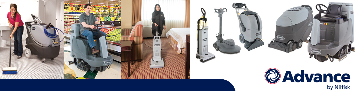 Advance by Nilfisk Janitorial Equipment